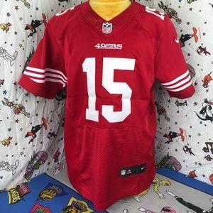 NFL Nike #15 Crabtree San Francisco 49ers Jersey